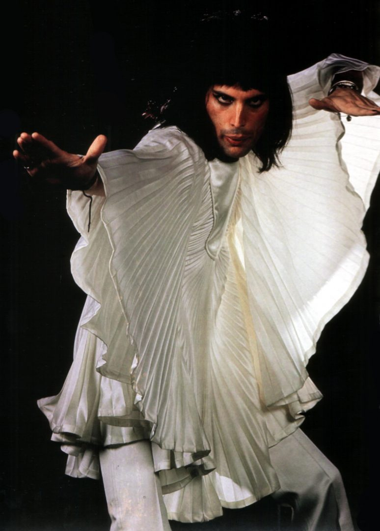 Freddie mercury's clothes batwing
