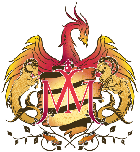 Mother Mercury Zodiac crest logo