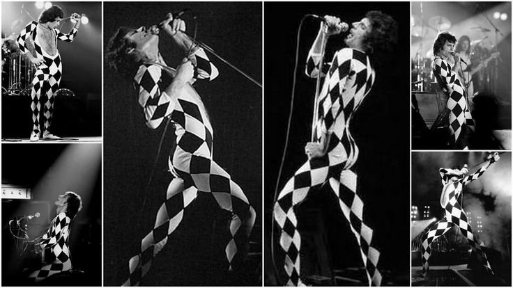 Freddie Mercury's clothes unitards